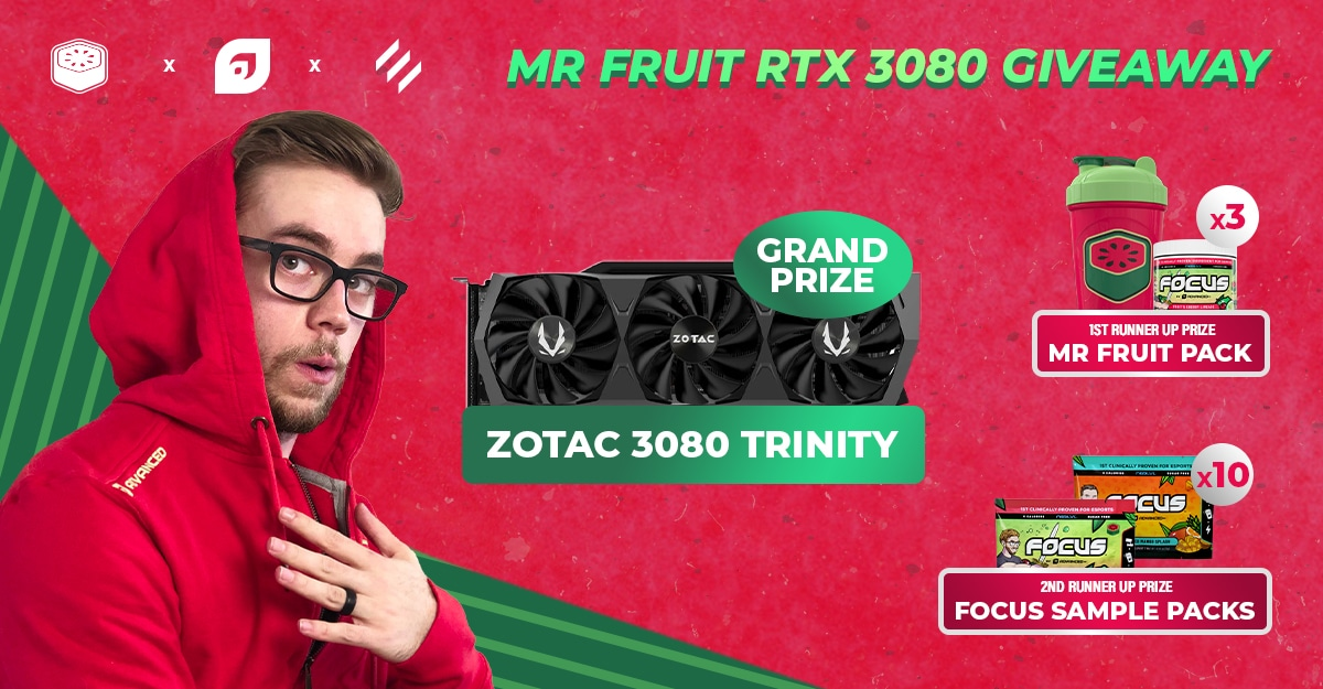 RTX 3080 Graphics Card Giveaway By Mr. Fruit